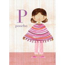 Fashion Poncho Canvas Art