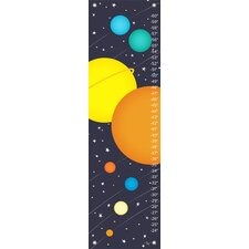Planets of the Solar System Growth Chart
