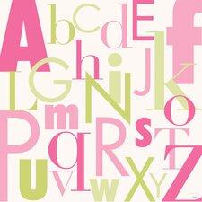 Modern Letters - Canvas Art