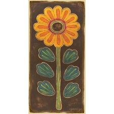 Folklore Flower Canvas Art