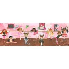 Ballet Class Canvas Art