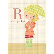 Fashion Rain Jacket Canvas Art