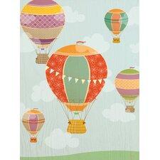 Balloon Ride Canvas Art