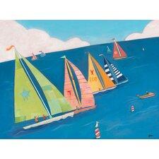 Sailing Regatta Canvas Art