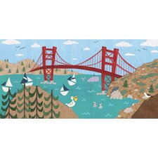 Sunny San Francisco Canvas Art