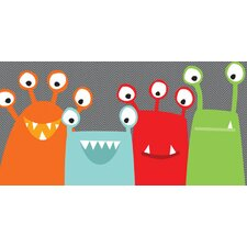 Monster Mugs Canvas Art