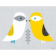 Blandford Birdies Canvas Art