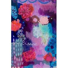 Flowers on Descent Canvas Art
