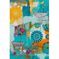 Floral Voyage Canvas Art