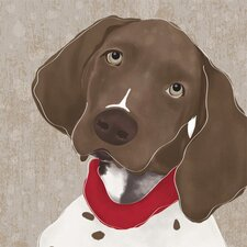 Barkley & Wagz - German Shorthaired Pointer Canvas Art