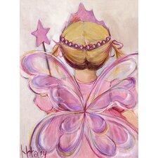 Little Fairy Princess Blonde Canvas Art