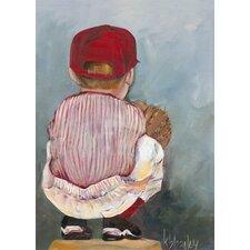 Lil' Catcher Canvas Art
