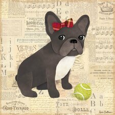 Frenchie Canvas Art