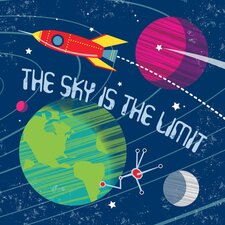 The Sky is the Limit Canvas Art
