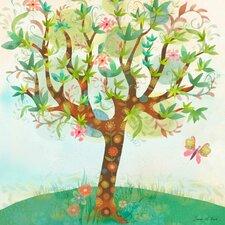 Spring Breeze Canvas Art