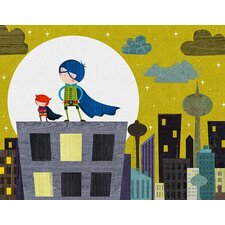 Super Kids by Rebecca Elliott Canvas Art