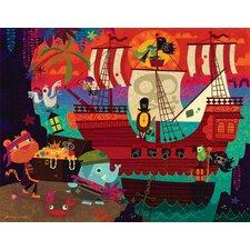 Pirate's Cove by Johnny Yanok Canvas Art