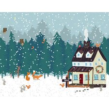 Holiday Hide and Seek by Joy Laforme Canvas Art