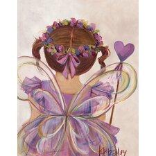 Little Fairy Princess by Kristina Bass Bailey Canvas Art