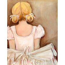 Beautiful Ballerina by Kristina Bass Bailey Canvas Art
