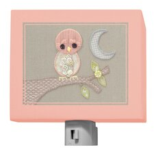 Vintage Baby Owl by Kristen White Night Light