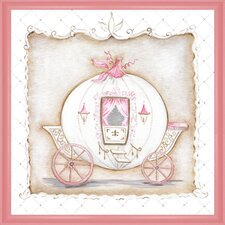 Little Princess Carriage I Framed Painting Print