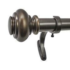 Urn Single Curtain Rod