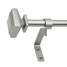Decopolitan Single Curtain Rod and Hardware Set