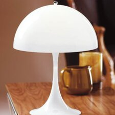 "Panthella 22.8"" H Table Lamp with Bowl Shade"