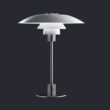 "PH 21.6"" H Table Lamp with Bowl Shade"