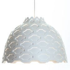 LC Shutters 1 Light Bowl Pendant