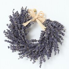 13cm; Birch and French Lavender Wreath