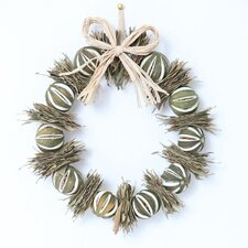 27cm; Orange and Bay leaf Wreath