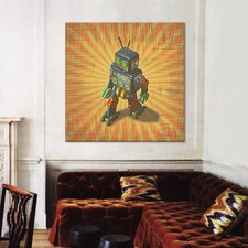 """""""Robot II"""" Canvas Wall Art by Marcus Jules"""