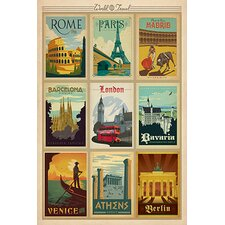 """""""Europe Collection"""" by Anderson Design Vintage Advertisement"""