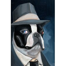 'BT Blue Eyes' by Brian Rubenacker Painting Print on Canvas