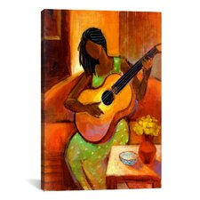 """""""Ballad"""" by Keith Mallett Painting Print on Canvas"""