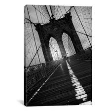 Brooklyn Bridge Study I by Moises Levy Photographic Print on Canvas