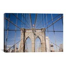 Brooklyn Bridge by Monte Nagler Photographic Print on Canvas