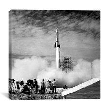 Bumper V-2 Launch Canvas Wall Art