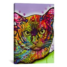 'Burmese' by Dean Russo Graphic Art on Canvas