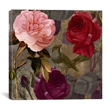 """""""Birds and Roses"""" Canvas Wall Art from Color Bakery"""