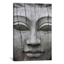 Buddha's Face Photographic Print on Canvas