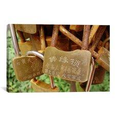 Buddhist Locks At Puning Photographic Print on Canvas