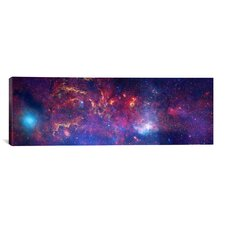 Astronomy and Space 'Center of The Milky Way Galaxy' Graphic Art on Canvas