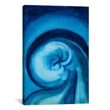Blue I by Georgia O'Keeffe Graphic Art on Canvas