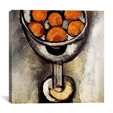 """A Vase with Oranges"" Canvas Wall Art by Henri-Matisse"