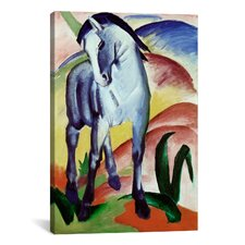 'Blue Horse' by Franz Marc Painting Print on Canvas