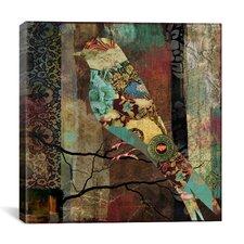 """""""Aviary (Bird)"""" Canvas Wall Art by Color Bakery"""