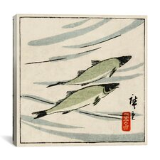 """Ayu Zu"" Canvas Wall Art by Hiroshige lll"